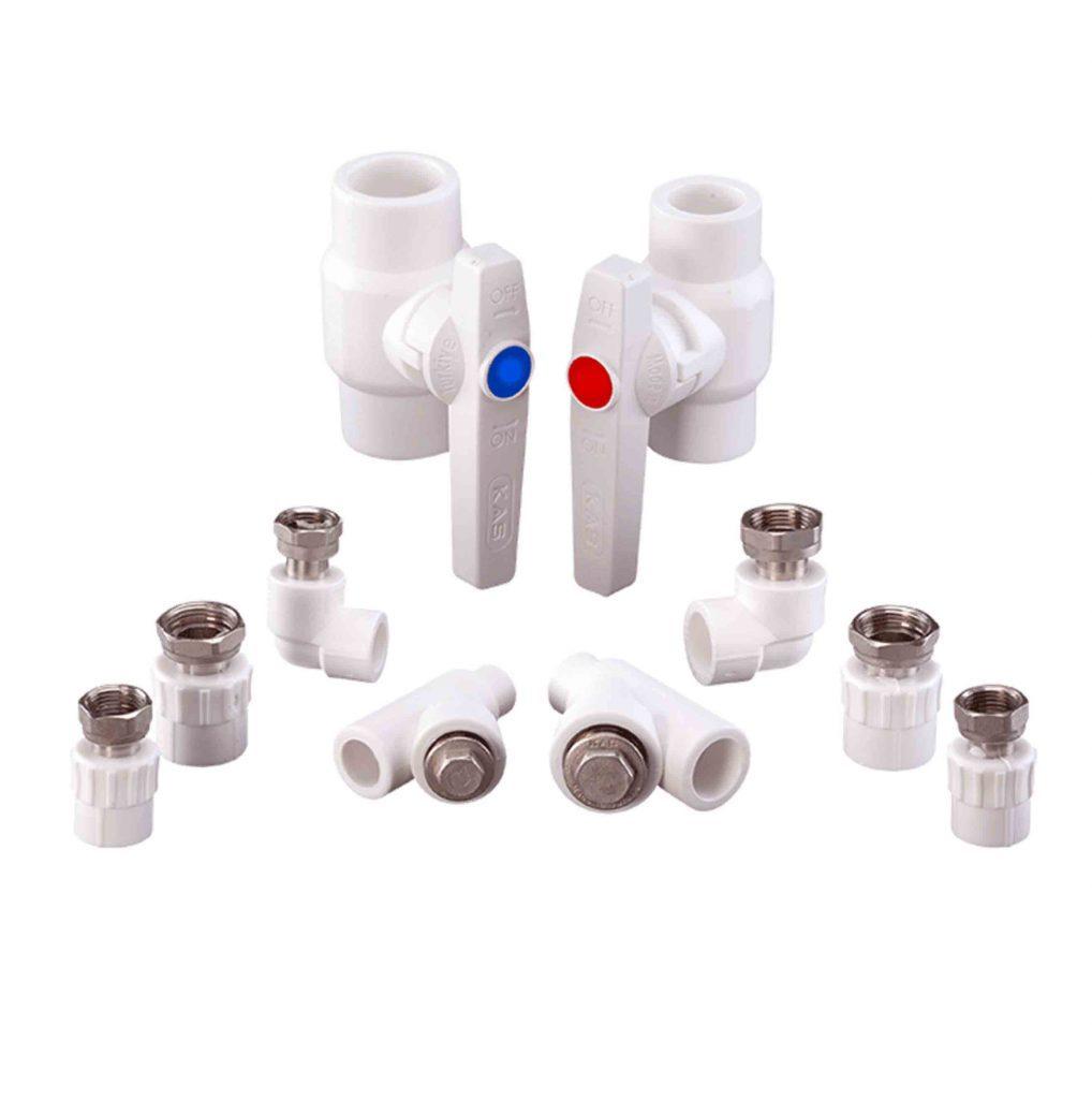 PPR Комплект для подсоединения газовой колонки