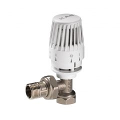 Angle Thermostatic Radiator Valve - Jack