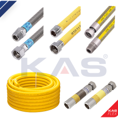 Flexible metal hoses profile