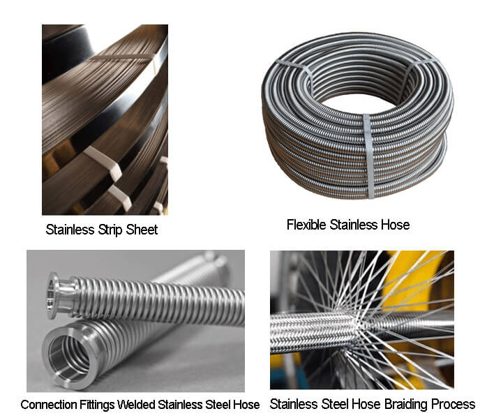 stainless hose production process