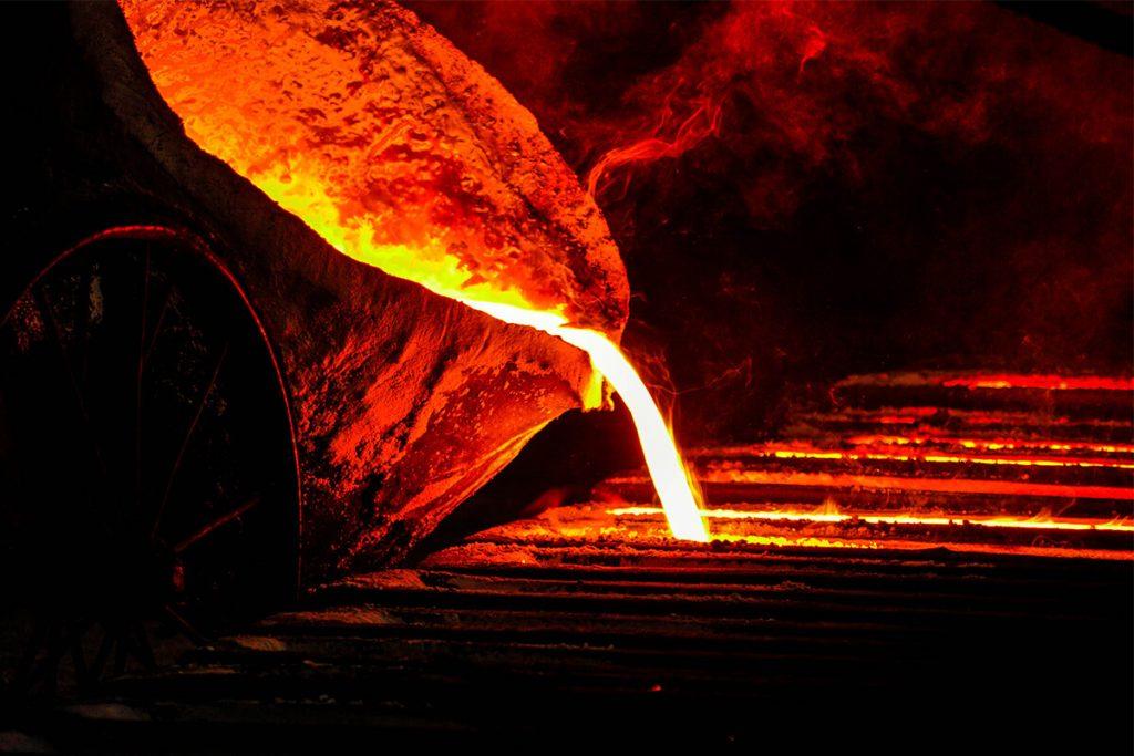 yüksek sıcaklıkta çelik