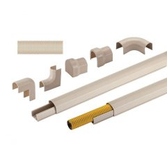 Cream-Trunking and-Accessories-for-Gas-Flexible-Hoses